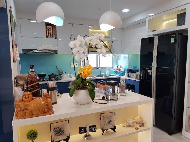 Phòng bếp căn hộ Green Valley, Quận 7 Căn ộ Green Valley view nội khu yên tĩnh, tầng cao đón gió thoáng mát.