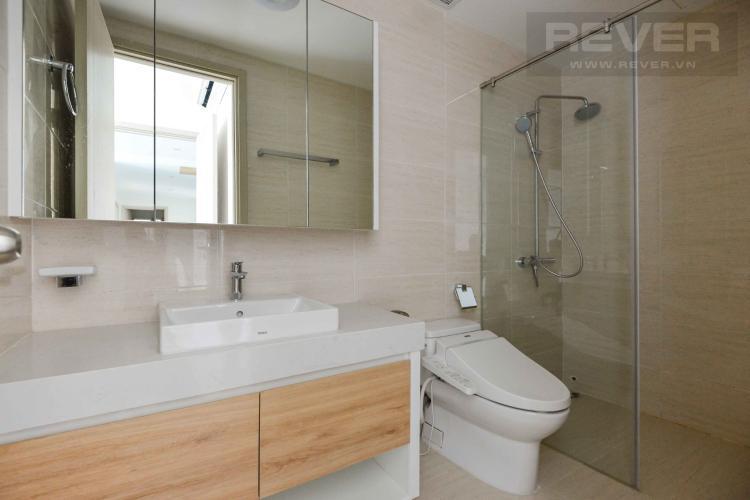 Toilet căn hộ NEW CITY THỦ THIÊM Cho thuê căn hộ New City Thủ Thiêm 3PN, tầng 12, đầy đủ nội thất, view nội khu
