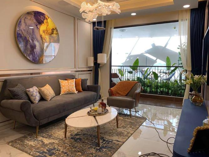 Nhà mẫu căn hộ Opal Boulevard Căn hộ Opal Boulevard tầng cao, ban công Tây Nam thoáng mát