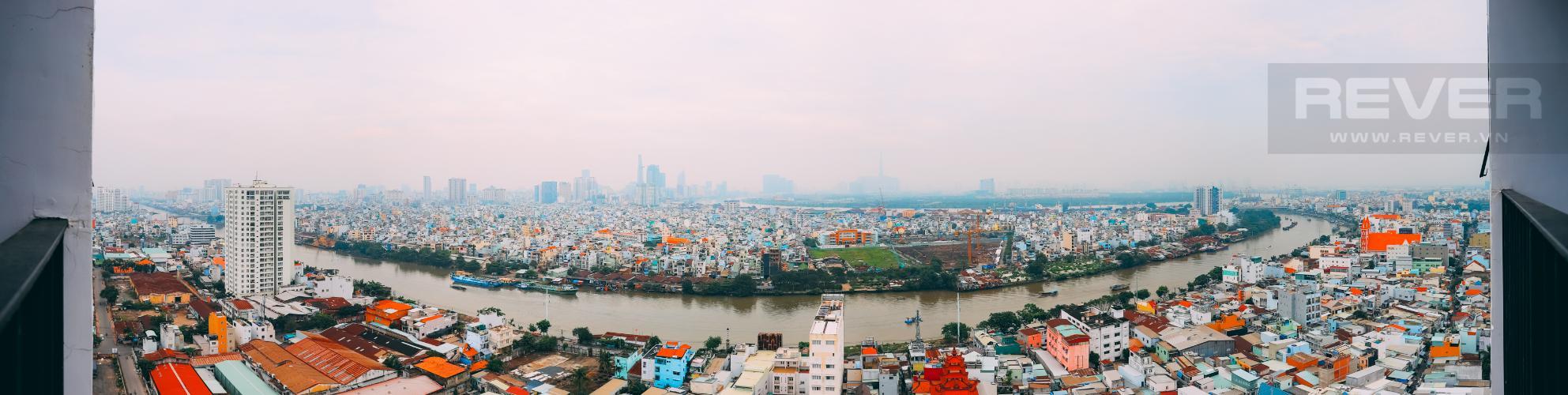 View Bán căn hộ M-One Nam Sài Gòn tầng cao, 2PN view sông