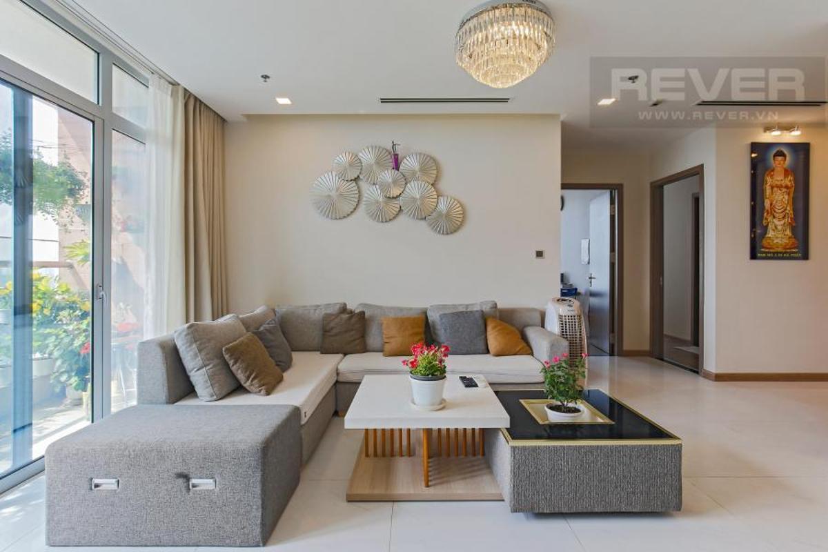 0547e7b43cf2dbac82e3 Bán căn hộ Vinhomes Central Park 4PN, tháp Landmark 81, đầy đủ nội thất, view công viên và sông Sài Gòn
