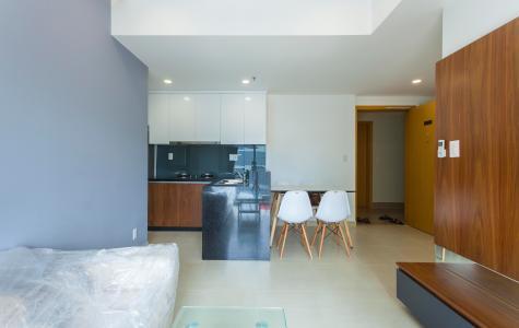 Căn hộ Masteri Thảo Điền 2 phòng ngủ tấng thấp T1, nội thất đầy đủ