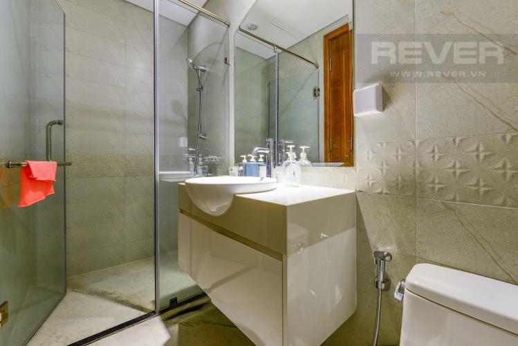 Phòng tắm 2 Căn hộ Vinhomes Central Park 2 phòng ngủ tầng cao C3 hướng Tây