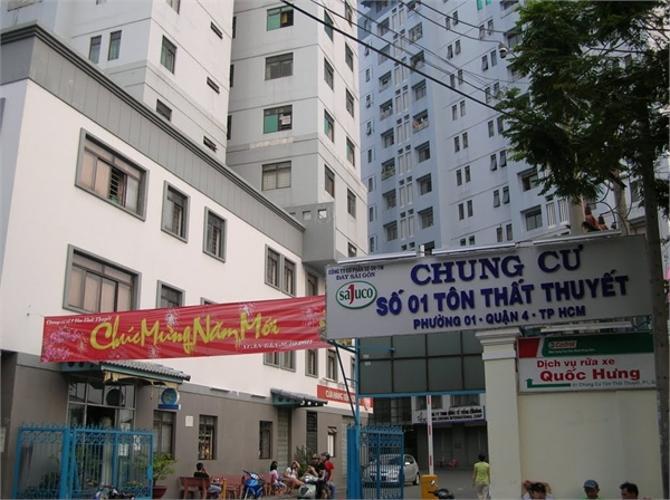 Chung cư Tôn Thất Thuyết - Chung-cu-ton-that-thuyet-quan-4