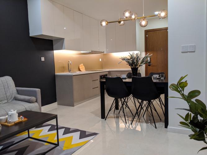 Bán căn hộ 2 phòng ngủ tầng cao đầy đủ nội thất  Masteri Millennium.