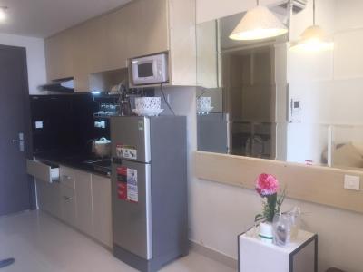 Bán căn hộ RiverGate Residence 1PN, diện tích 26m2, đầy đủ nội thất, ban công Đông Bắc