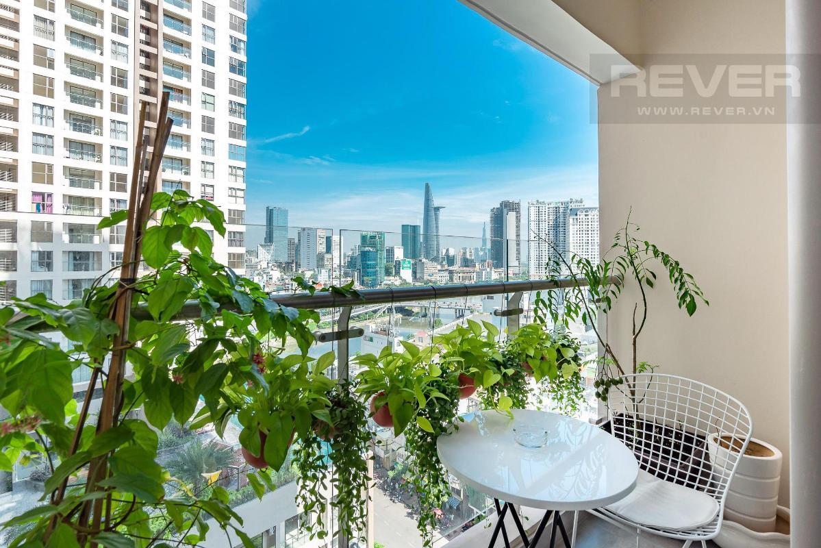 bcc6f4f859b4bfeae6a5 Bán căn hộ Masteri Millennium 2 phòng ngủ, block B, đầy đủ nội thất, view Bitexco