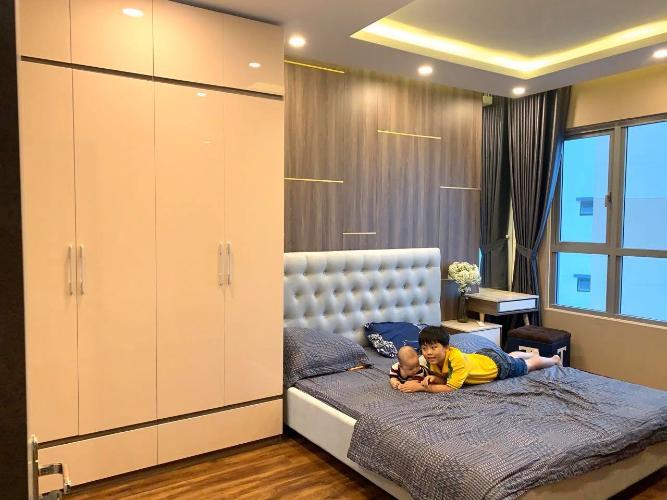 Phòng ngủ căn hộ Palm Heights Cho thuê căn hộ Palm Heights 3 phòng ngủ, diện tích sử dụng 105m2, đầy đủ nội thất cao cấp