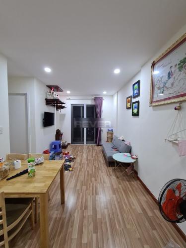 Phòng khách căn hộ Diamond Riverside, Quận 8 Căn hộ Diamond Riverside đầy đủ tiện nghi, view thành phố cực đẹp.