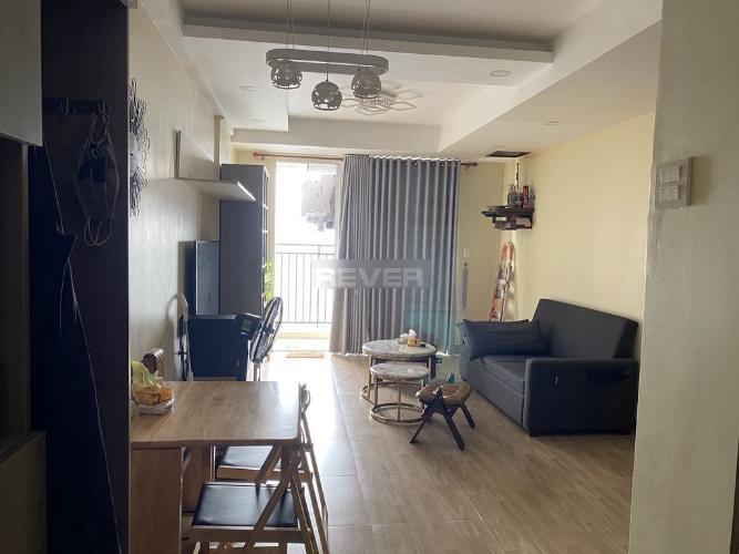 Căn hộ chung cư Richstar nội thất tiện nghi view tầng cao đón gió mát.