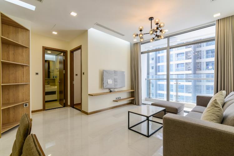 Căn hộ Vinhomes Central Park 2 phòng ngủ tầng cao P4 view sông