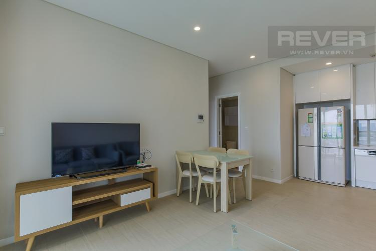 Phòng Khách 1 Bán hoặc cho thuê căn hộ Diamond Island - Đảo Kim Cương 3PN, Dual Key, đầy đủ nội thất, view sông thoáng mát.