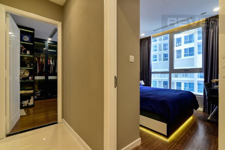 Không Gian Giửa 2 Phòng Ngủ Căn hộ Vinhomes Central Park tầng cao, 2PN đầy đủ nội thất