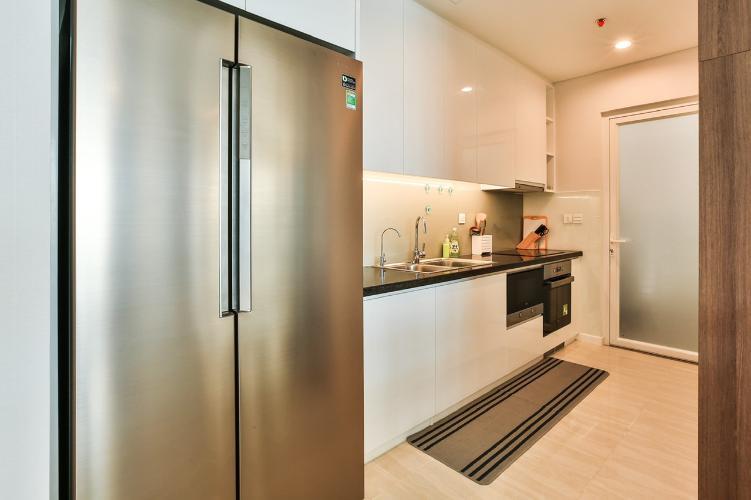 Phòng bếp Sadora Apartment, Quận 2 Căn hộ tầng trung Sadora Apartment view nội khu mát mẻ.