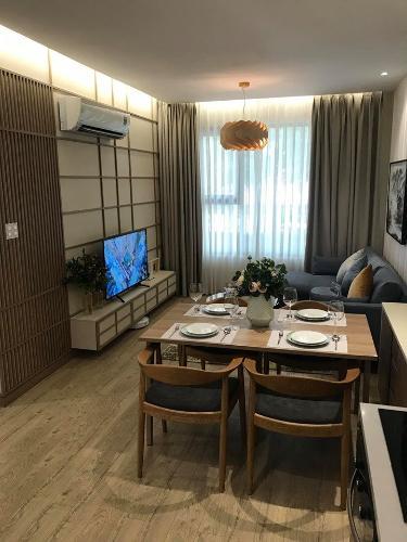 Nhà mẫu căn hộ Akari City, Bình Tân Căn hộ góc tầng 05 Akari City, view thành phố thoáng mát