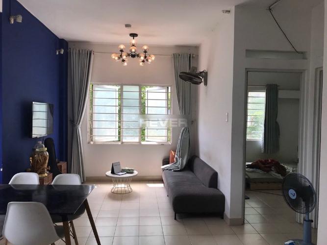 Phòng khách Ehome Đông Sài Gòn 2 Căn hộ Ehome Đông Sài Gòn 2 nội thất đầy đủ, hướng Đông Bắc.
