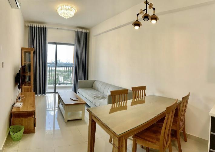 nội thất bàn ăn Căn hộ The Sun Avenue Cho thuê căn hộ nội thất đầy đủ, view thành phố The Sun Avenue