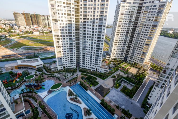 View Cho thuê căn hộ Diamond Island 2PN 2WC, đầy đủ nội thất, view nội khu