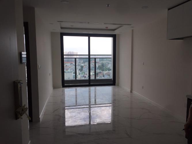 Căn hộ Sunshine City Saigon cửa chính hướng Tây, nội thất cơ bản.