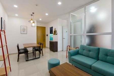 Bán căn hộ Vista Verde 1PN tầng cao, đầy đủ nội thất cao cấp, hướng Đông Nam mát mẻ