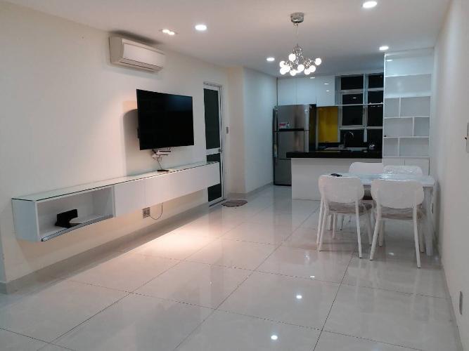 Cho thuê căn hộ Hoàng Anh Thanh Bình 3 phòng ngủ thuộc tầng trung, diện tích 113.71m2
