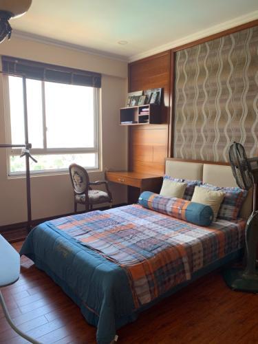 Phòng ngủ căn hộ 3PN Tropic Garden Căn hộ Tropic Garden tầng trung, ban công hướng Tây Bắc.