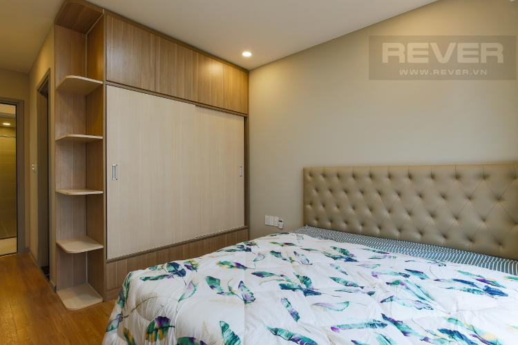 Phòng Ngủ 1 Căn hộ The Gold View 2 phòng ngủ tầng cao tháp B nội thất hiện đại