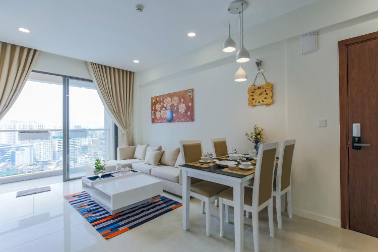Căn hộ Masteri Millennium tầng cao, block A, 2PN đầy đủ nội thất