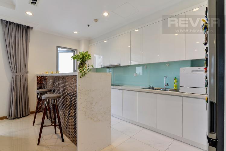 Nhà Bếp Bán căn hộ Vinhomes Central Park 4PN, tháp The Central 2, đầy đủ nội thất, view hồ bơi