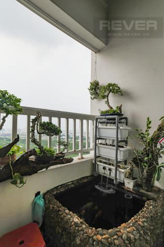 Balcony Bán căn hộ Lexington Residence 2PN, tầng cao, đầy đủ nội thất