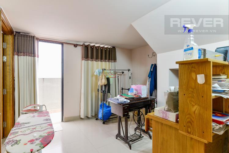 Phòng Ngủ Tầng Lửng Bán biệt thự Thạnh Xuân Quận 12, diện tích lớn, đầy đủ nội thất