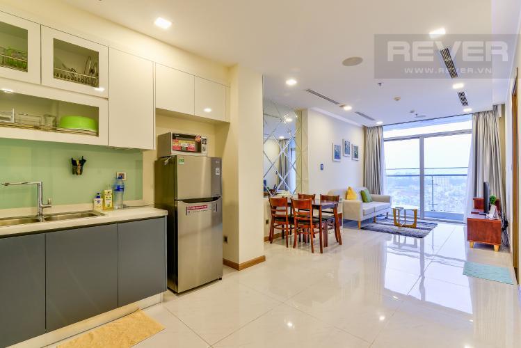 Tổng Quan Bán và cho thuê căn hộ Vinhomes Central Park tầng cao 2PN đầy đủ nội thất