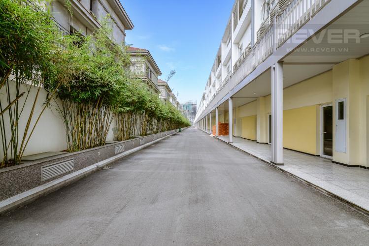 View Mặt Sau Nhà phố thương mại đường Nguyễn Cơ Thạch khu đô thị Sala