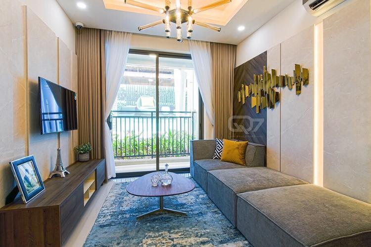 Phòng khách căn hộ Lavida Plus Bán căn hộ Lavida Plus Q7 tầng cao view đẹp, diện tích 96m2, kết cấu 3 phòng ngủ và 2 phòng tắm, không nội thất.