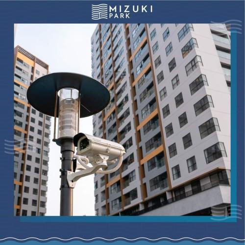 tiện ích căn hộ mizuki park Căn hộ Mizuki Park tầng trung, view cây xanh thoáng mát.