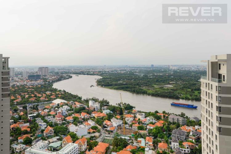 View Cho thuê căn hộ Masteri Thảo Điền tầng cao tháp T5, 2PN 2WC, đầy đủ nội thất, view sông Sài Gòn