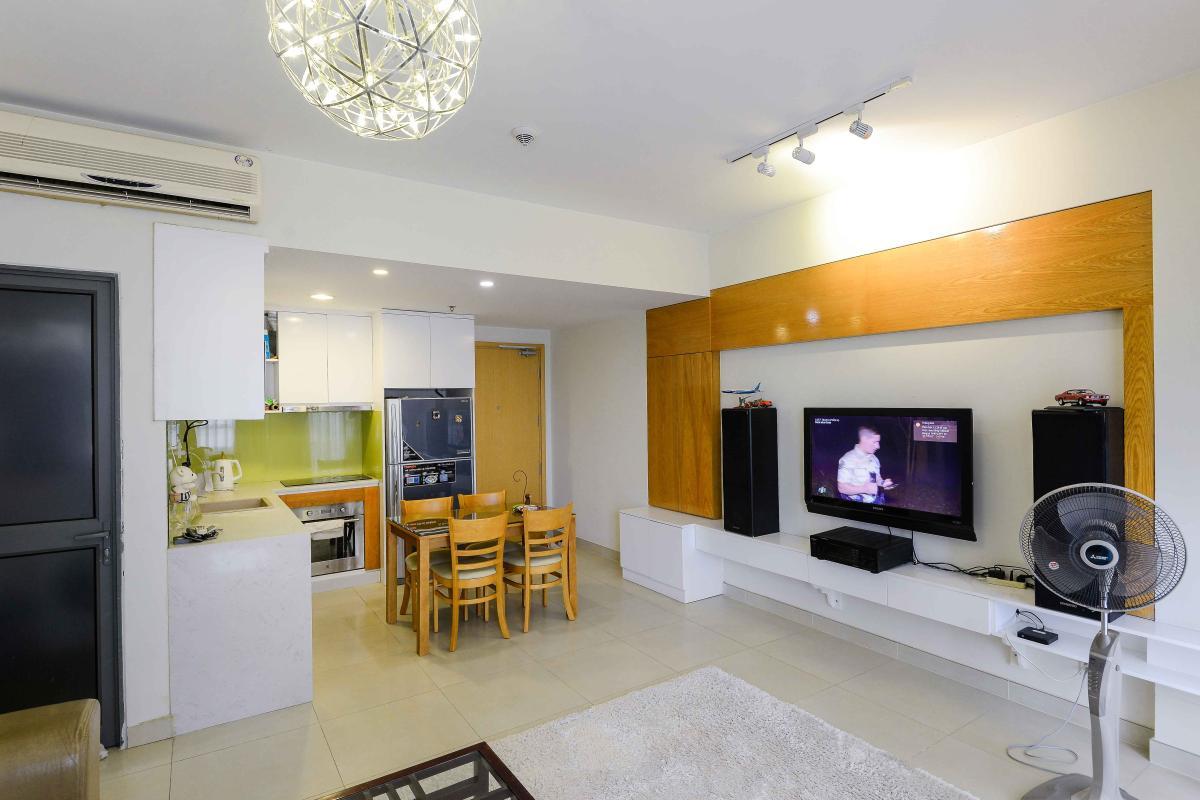 058dbb5d343ed2608b2f Cho thuê căn hộ Masteri Thảo Điền 2PN, tầng thấp, tháp T2, đầy đủ nội thất, view hồ bơi
