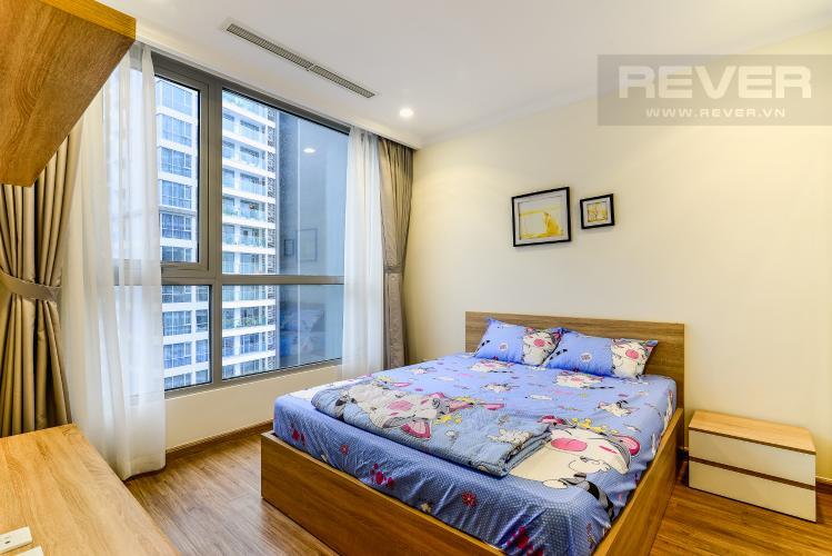 Phòng Ngủ 1 Căn hộ Vinhomes Central Park tầng cao tòa Landmark 1, 3 phòng ngủ view sông