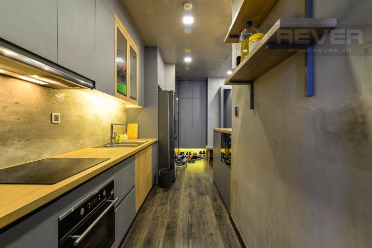 Nhà Bếp Căn hộ Vinhomes Central Park 2PN đầy đủ nội thất, view sông Sài Gòn
