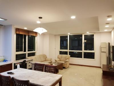 Bán hoặc cho thuê căn hộ The Manor 3PN, diện tích 136m2, đầy đủ nội thất, căn góc, view thành phố