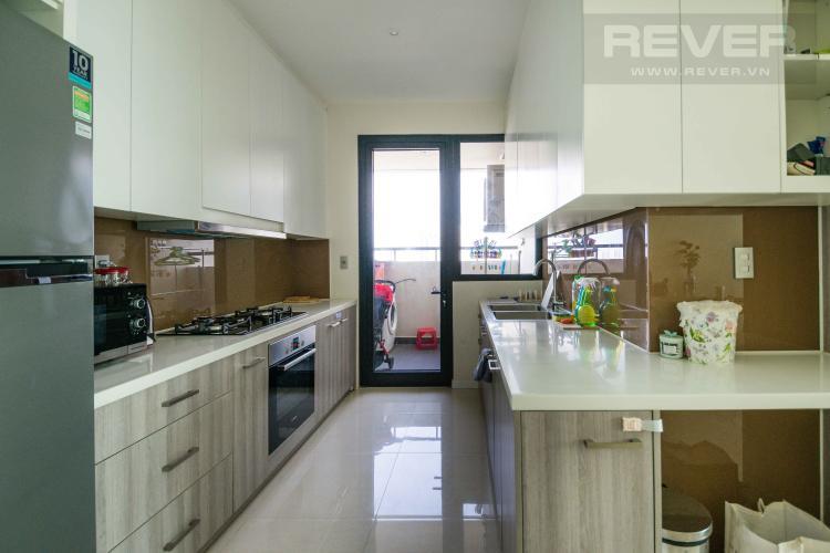 Bếp Cho thuê căn hộ The Ascent tầng cao 2PN, nội thất đầy đủ, view Landmark 81