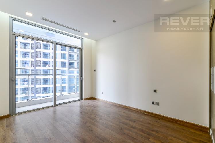 Phòng Ngủ 1 Căn hộ Vinhomes Central Park tầng thấp Park 3 view hồ bơi nội khu
