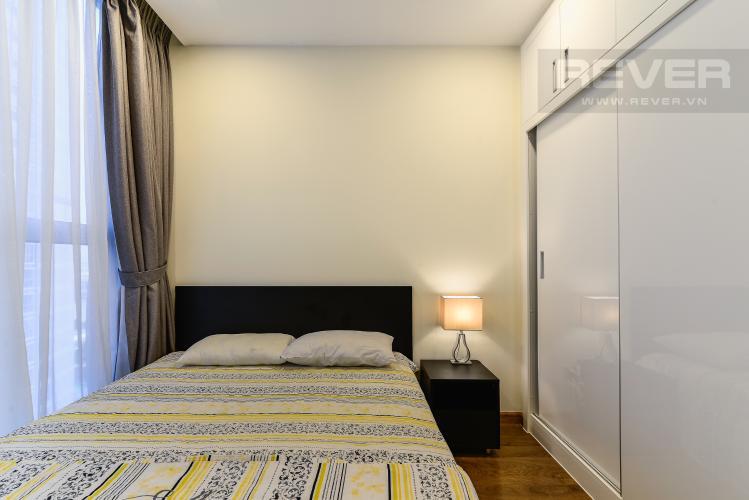 Phòng Ngủ 2 Cho thuê căn hộ Vinhomes Central Park tháp Park 1 tầng trung, 2PN đầy đủ nội thất