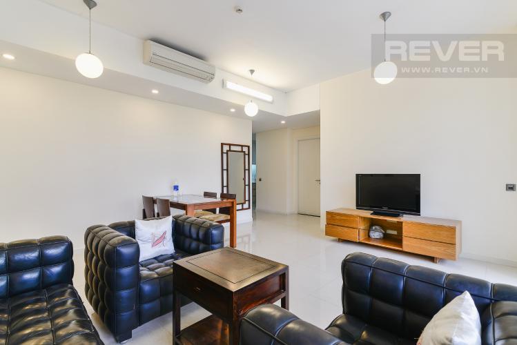 Phòng Khách Căn hộ The Estella Residence tầng thấp, 2 phòng ngủ, nội thất đầy đủ