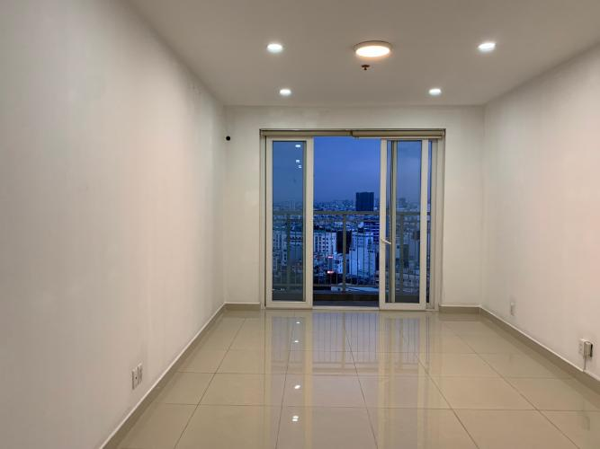 Căn hộ An Phú Apartment tầng trung, view thành phố sầm uất.