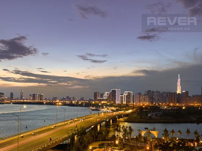 View Cho thuê căn hộ Diamond Island - Đảo Kim Cương, tháp Maldives, đầy đủ nội thất, view sông và Landmark 81