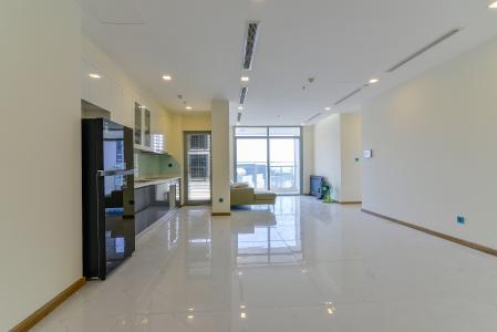 Cho thuê căn hộ Vinhomes Central Park tầng cao, 3PN đầy đủ nội thất, tiện nghi, view sông thoáng mát