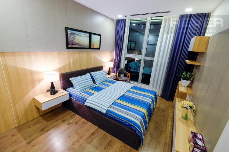 Phòng Ngủ 3 Bán căn hộ Vinhomes Central Park 3PN, tháp Park 1, diện tích 116m2, đầy đủ nội thất