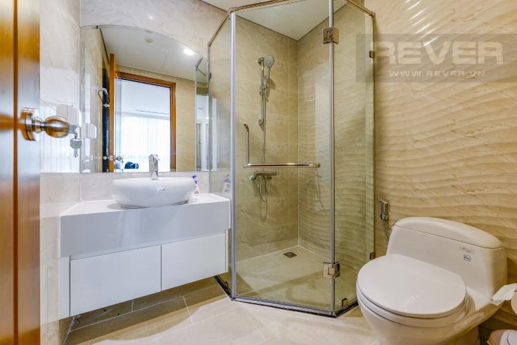Phòng tắm 1 Căn hộ Vinhomes Central Park 2 phòng ngủ tầng cao L6 nội thất đầy đủ
