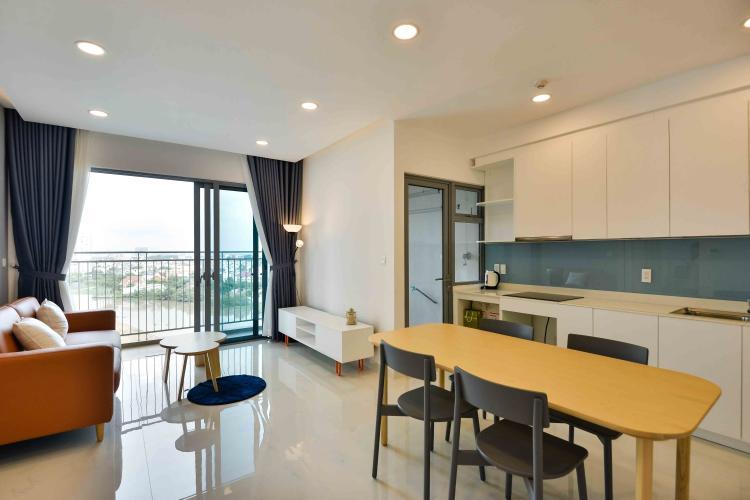 Cho thuê căn hộ Palm Heights 2PN, đầy đủ nội thất, ban công Đông Nam, view nội khu